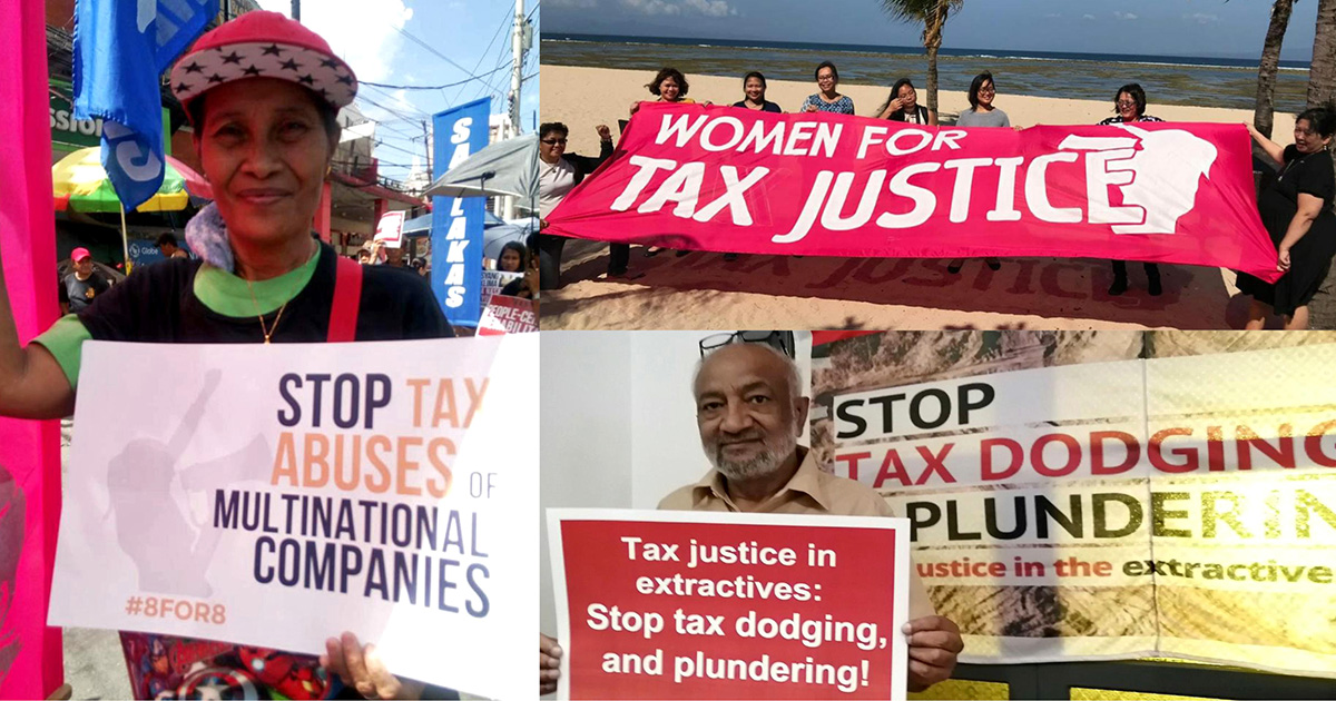 Call to Action: Tax Justice to Overcome the Crisis!