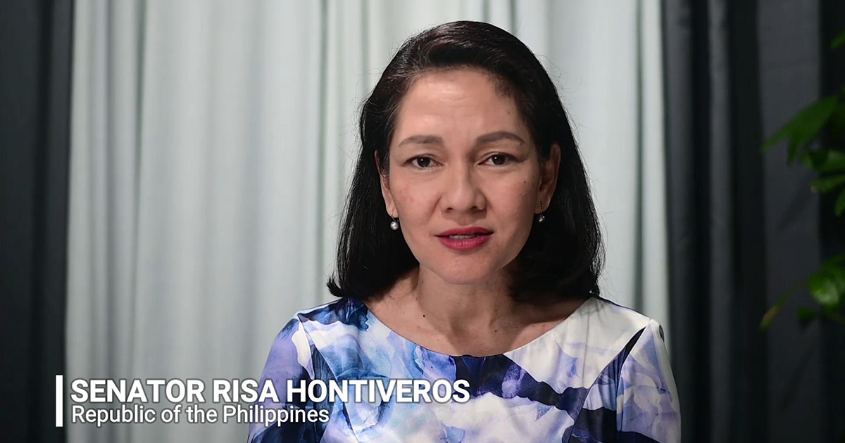 Work for progressive taxation - Philippine Senator Hontiveros