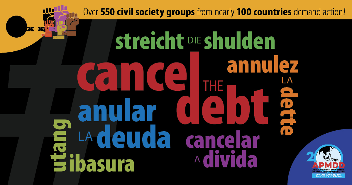 Civil Society steps up call for debt cancellation