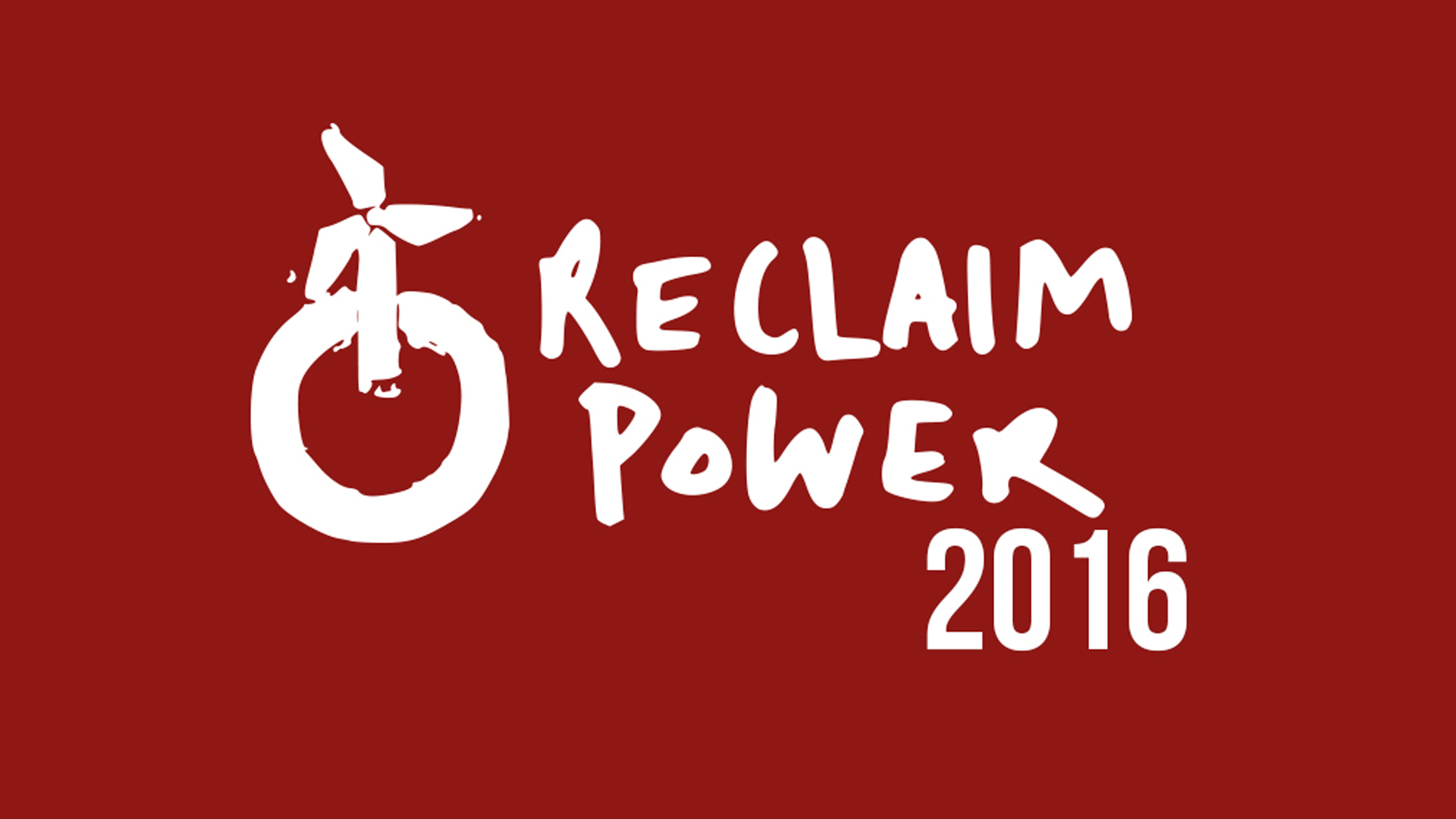 Reclaim Power 2016: A call for urgent action to put an end to dirty energy