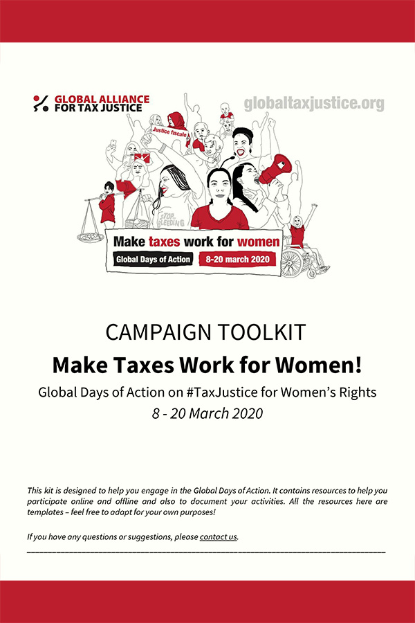 Campaign Toolkit for Global Days of Action 2020